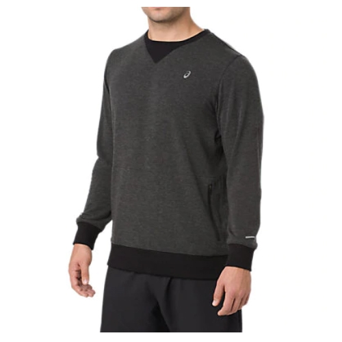 Asics Crew Top Men's Performance Black