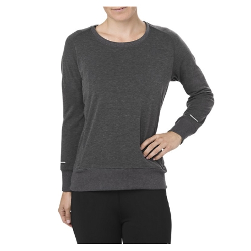 Asics Crew Top Women's Dark Grey Heather