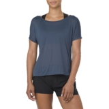 Asics Crop Top Women's Dark Blue