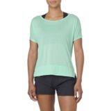 Asics Crop Top Women's Opal Green