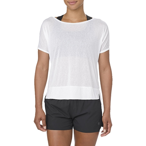 Asics Crop Top Women's Brillant White
