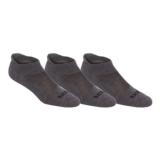 Asics Cushion Low Cut 3 Pack Unisex Grey Heather