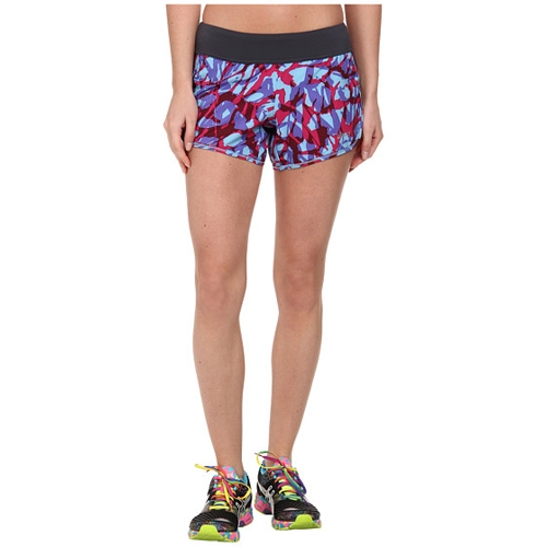ee47f44c Asics Everysport Short Women's Natural Blue Collage - Running Free ...