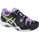 Asics GEL Resolution 6 Women's Black/Silver/Orchid