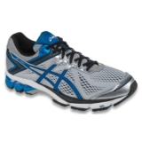 Asics GT 1000 4 Men's Silver/Electric Blue