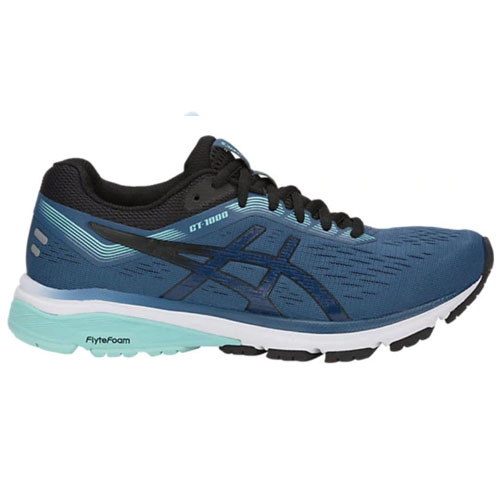 Asics GT 1000 7 Women's Grand Shark /Black - Asics Style # 1012A030.401 S19
