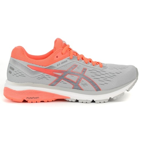 Asics GT 1000 7 Women's Mid Grey/Flash Coral