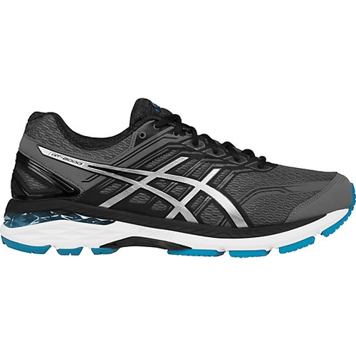 Asics GT 2000 5 Men's Carbon/Silver/Blue