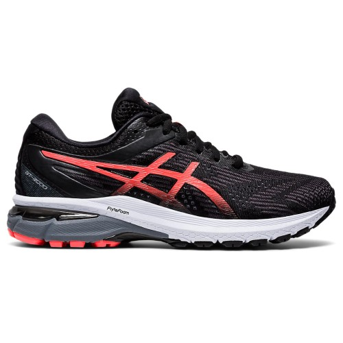 Asics GT 2000 8 Women's Black/Sunrise Red