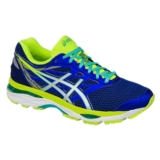 Asics Gel Cumulus 18 Women's Blue/Silver/Yellow