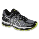 Asics Gel Kayano 22 Men's Charcoal/Silver/Lime