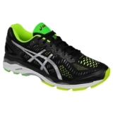 Asics Gel Kayano 23 Men's Black/Silver Yellow
