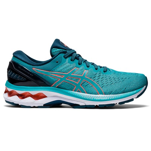 Asics Gel Kayano 27 Women's Techno Cyan/Sunrise