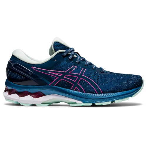 Asics Gel Kayano 27 Women's Mako Blue/Hot Pink