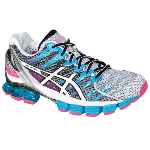 nouveau style 9fa0e 756fd Asics Gel Kinsei 4 Women's White/Snow/Pink - Running Free Canada