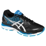 Asics Gel Nimbus 18 Men's Black/White/Island Blue
