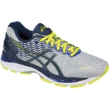 Asics Gel Nimbus 18 Men's Silver/Ink/Flash Yellow
