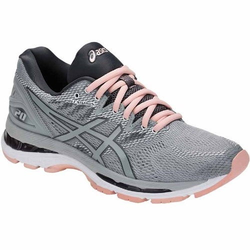 Asics Gel Nimbus 20 Women's Mid Grey/Seashell Pink