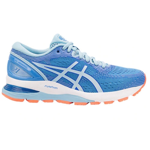 Asics Gel Nimbus 21 Women's Blue Coast/Skylight