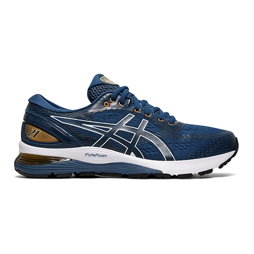 Asics Gel Nimbus 21 Men's Mako Blue/Black