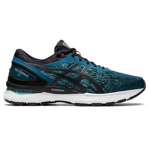 Asics Gel Nimbus 22 Knit Men's Magnetic Blue/Black