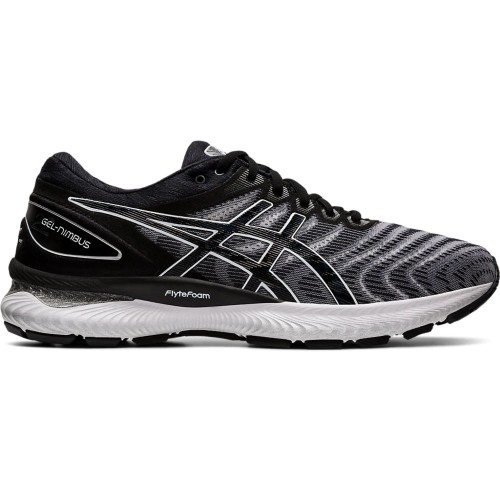 Asics Gel Nimbus 22 Men's White/Black - Asics Style # 1011A685 100 S20