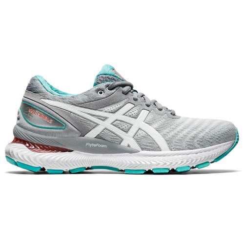 Asics Gel Nimbus 22 Women's Sheetrock/White