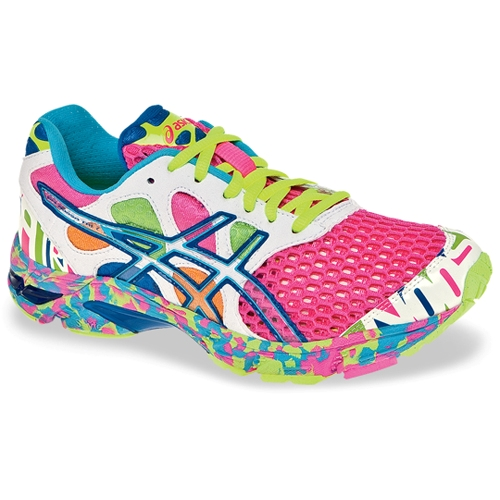 the best attitude 3ae32 ab705 ... Asics Gel Noosa Tri 7 Womens Neon PinkCoral - Asics Style T264.