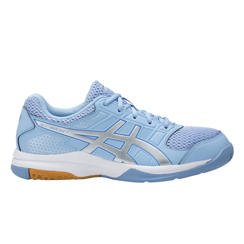 Asics Gel Rocket 8 Women's Airy Blue/Silver/White