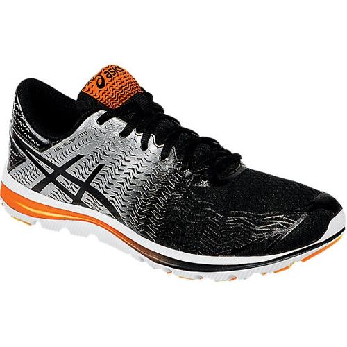 tout neuf 47daa 33394 Asics Gel Super J33 2 Men's Black/Silver/Orange - Running ...