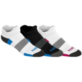 Asics Intensity Low Cut 3-pack Unisex White/Black/Red