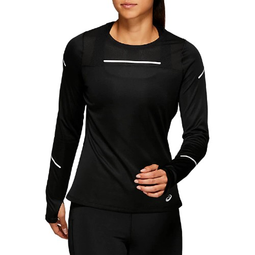 Asics Lite Show 2 Ls Top Women's Performance Black