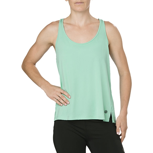 Asics Loose Tank Women's Opal Green Heather