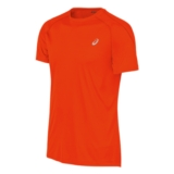 Asics Run Short Sleeve Tee Men's Cone Orange