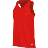 Asics Run Singlet Men's Firey Red