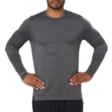 Asics Seamless LS Men's Dark Grey Heather