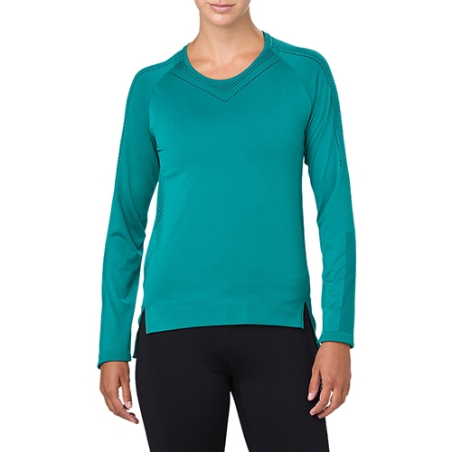 Asics Seamless LS Women's Lake Blue