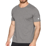 Asics Short Sleeve Top Men's Dark Grey Heather