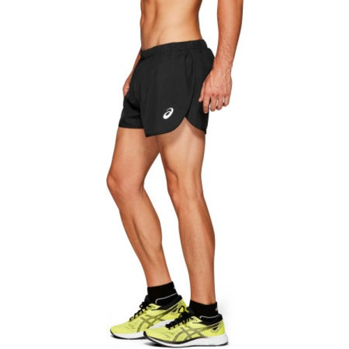 Asics Silver Split Short Men's Performance Black