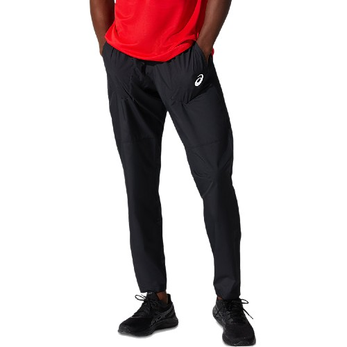 Asics Silver Woven Pant Men's Performance Black