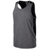 Asics Singlet Men's Dark Grey Heather