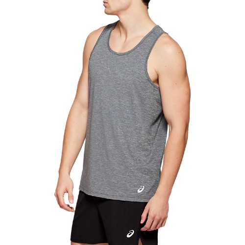 Asics Singlet Men's Dark Grey/Black