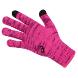 Asics Thermal Glove Liner Women's Pink Glow/Black