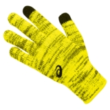 Asics Thermal Glove Liner Unisex Safety Yellow/Black