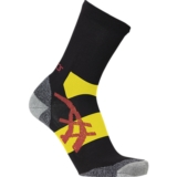 Asics Winter Running Socks Unisex Dk Grey/Safety Yellow