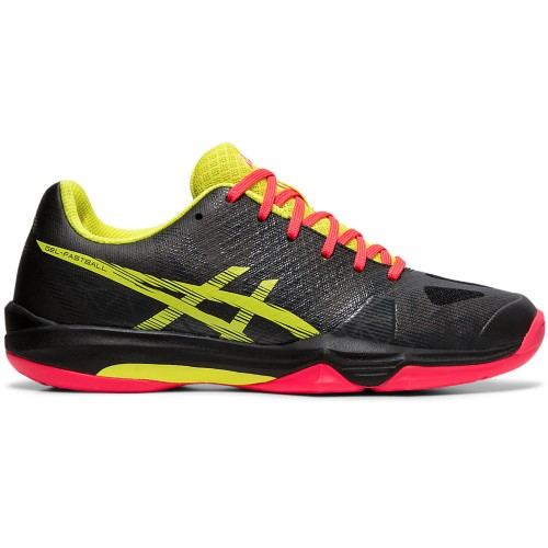Asics-Gel-Fastball-3 Women's Black/Sour Yuzu