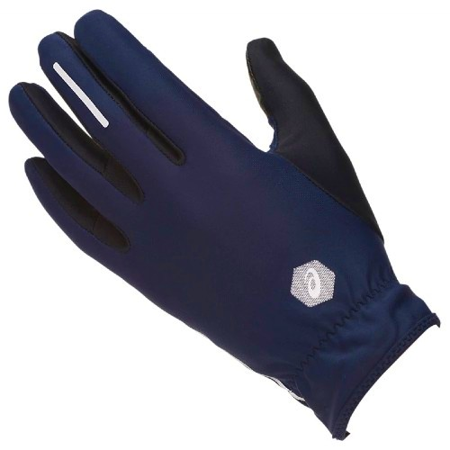 Asics-Lite-Show-Gloves Unisex Peacoat Blue
