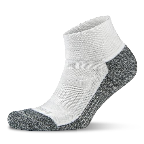 Balega Blister Resist Quarter Unisex White/Grey