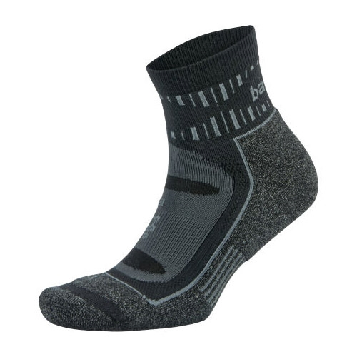 Balega Blister Resist Quarter Unisex Grey/Black