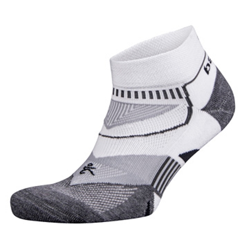 Balega Enduro 2 Low Cut Unisex White/Grey - Balega Style # 8972-2339 F17